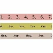 Kit de Washi Tapes Datas