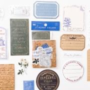 Kit Recortes e Adesivos Azul