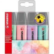Kit Stabilo Boss Pastel 4 cores