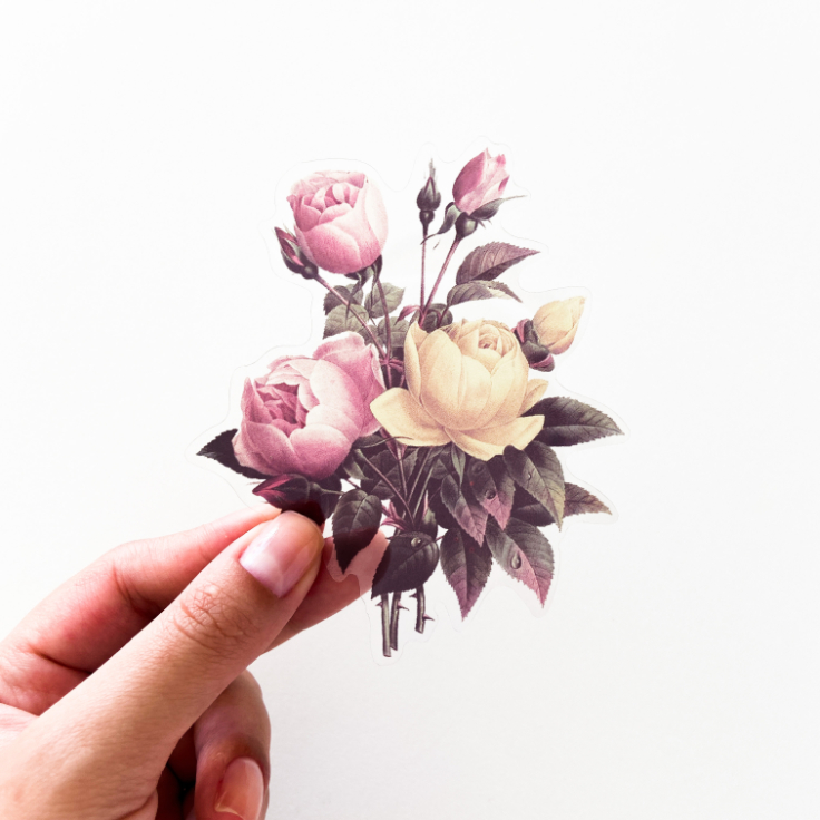 Adesivos Big Flowers