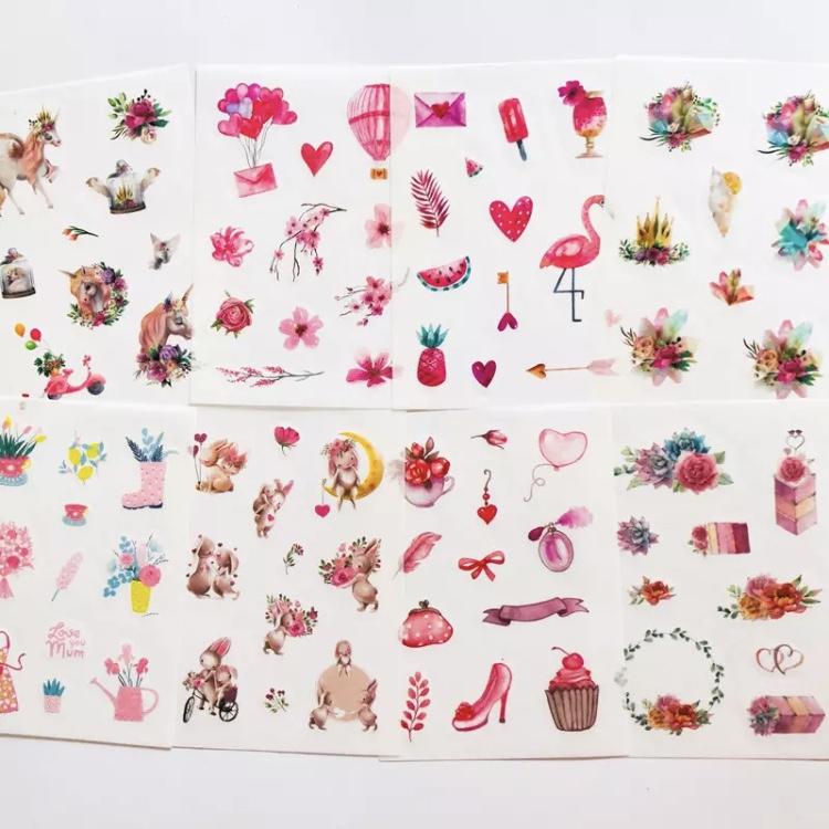 Adesivos Delicate - 8 páginas