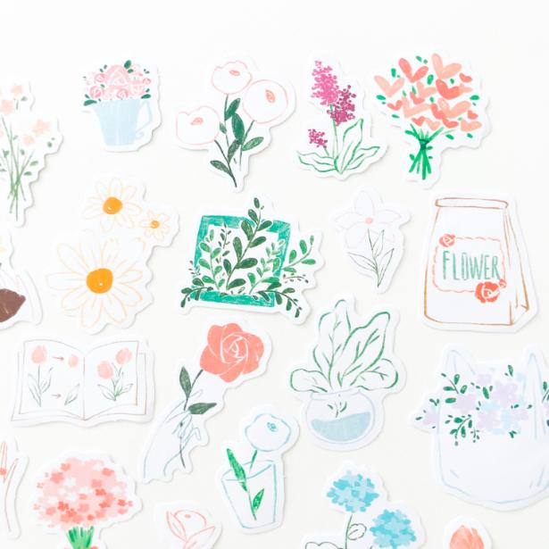 Adesivos Desenhos à Mão