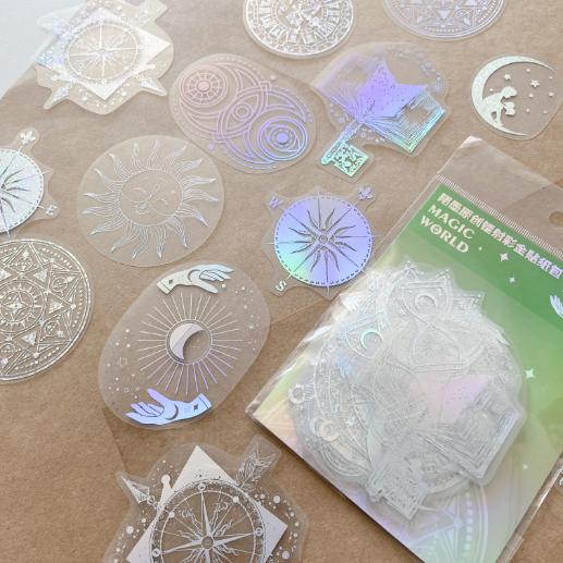 Adesivos Holográficos Magic