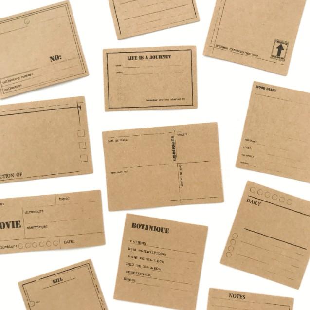 Adesivos Kraft Notes