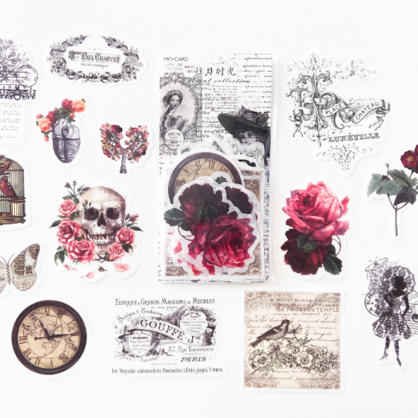 Adesivos We Love Vintage