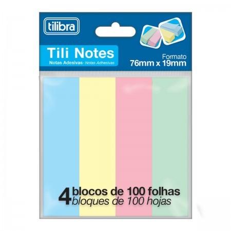 Bloco Adesivo Tili Notes 400 Folhas