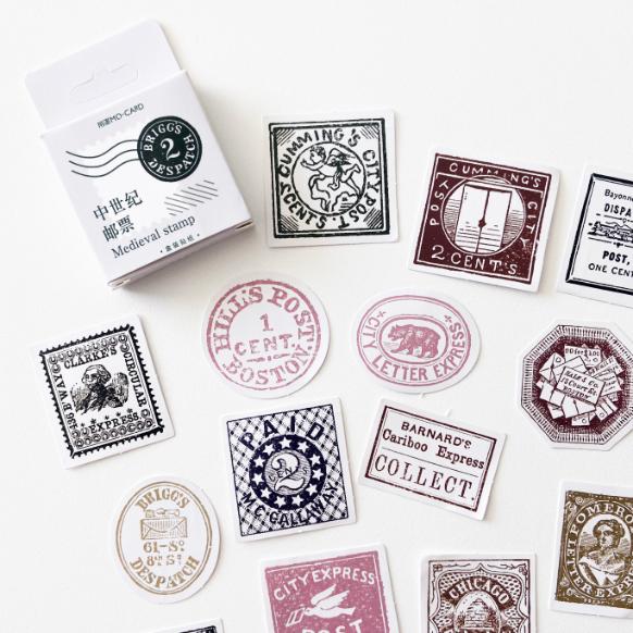 Caixinha Vintage Stamp