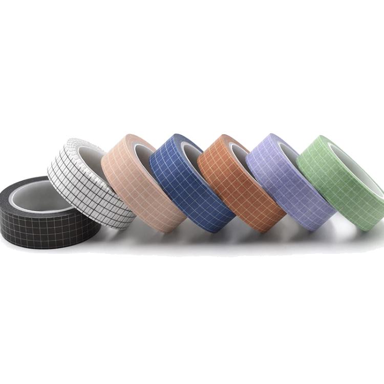 Kit 7 washi tapes grid