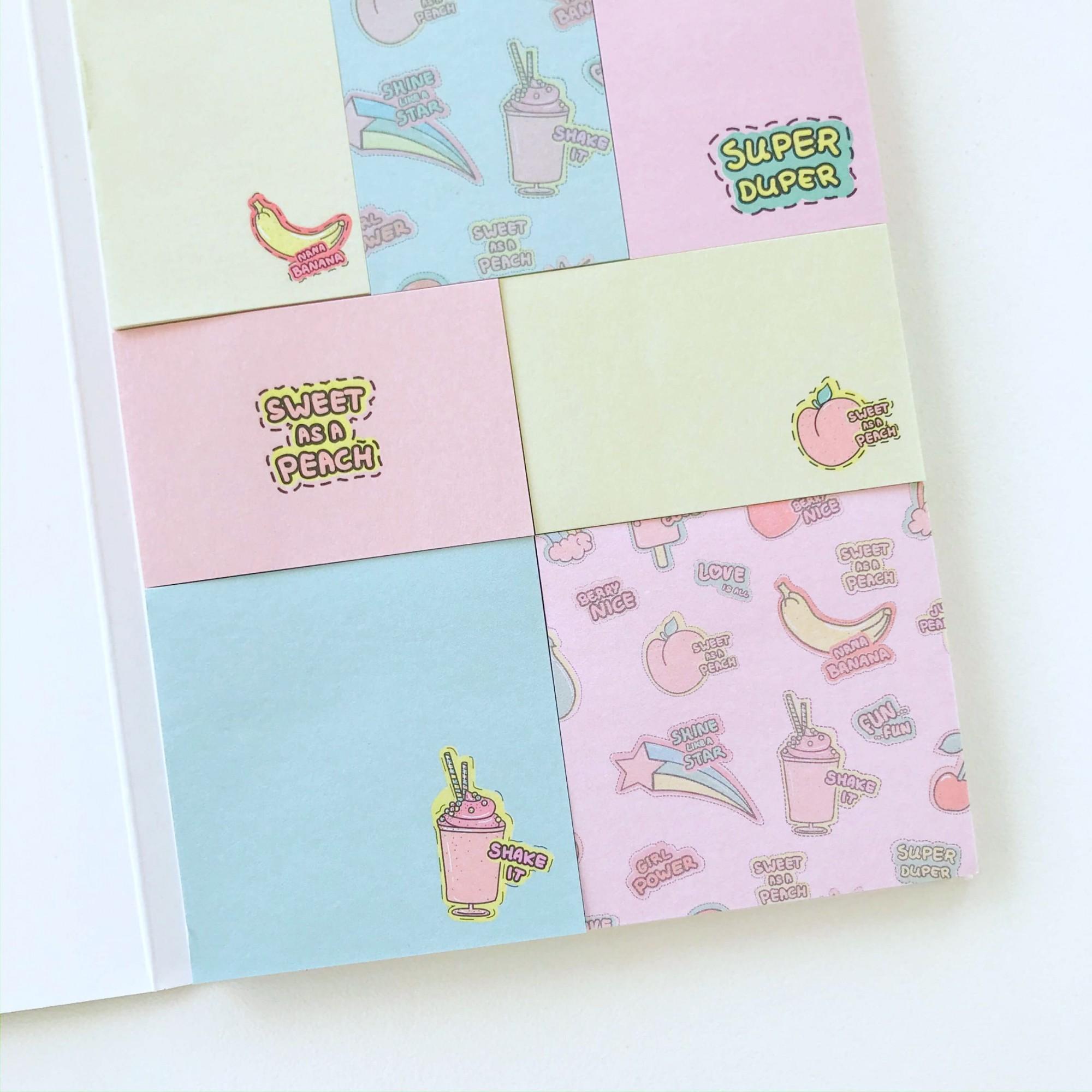 Sticky Notes Frutas