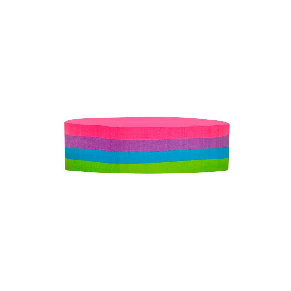 Bloco Adesivo Mini Round Color BRW