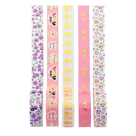 Kit Washi Tape Love Molin c/5