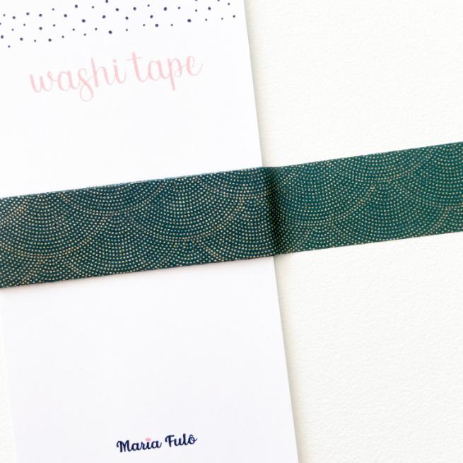Washi Tape Green (metro)
