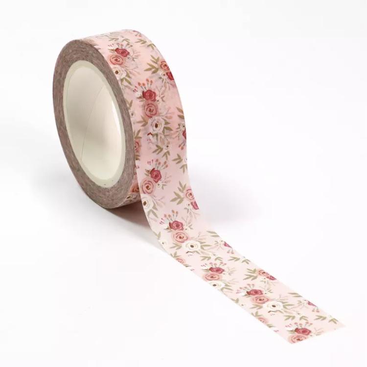 Washi Tape Flores Encantadas