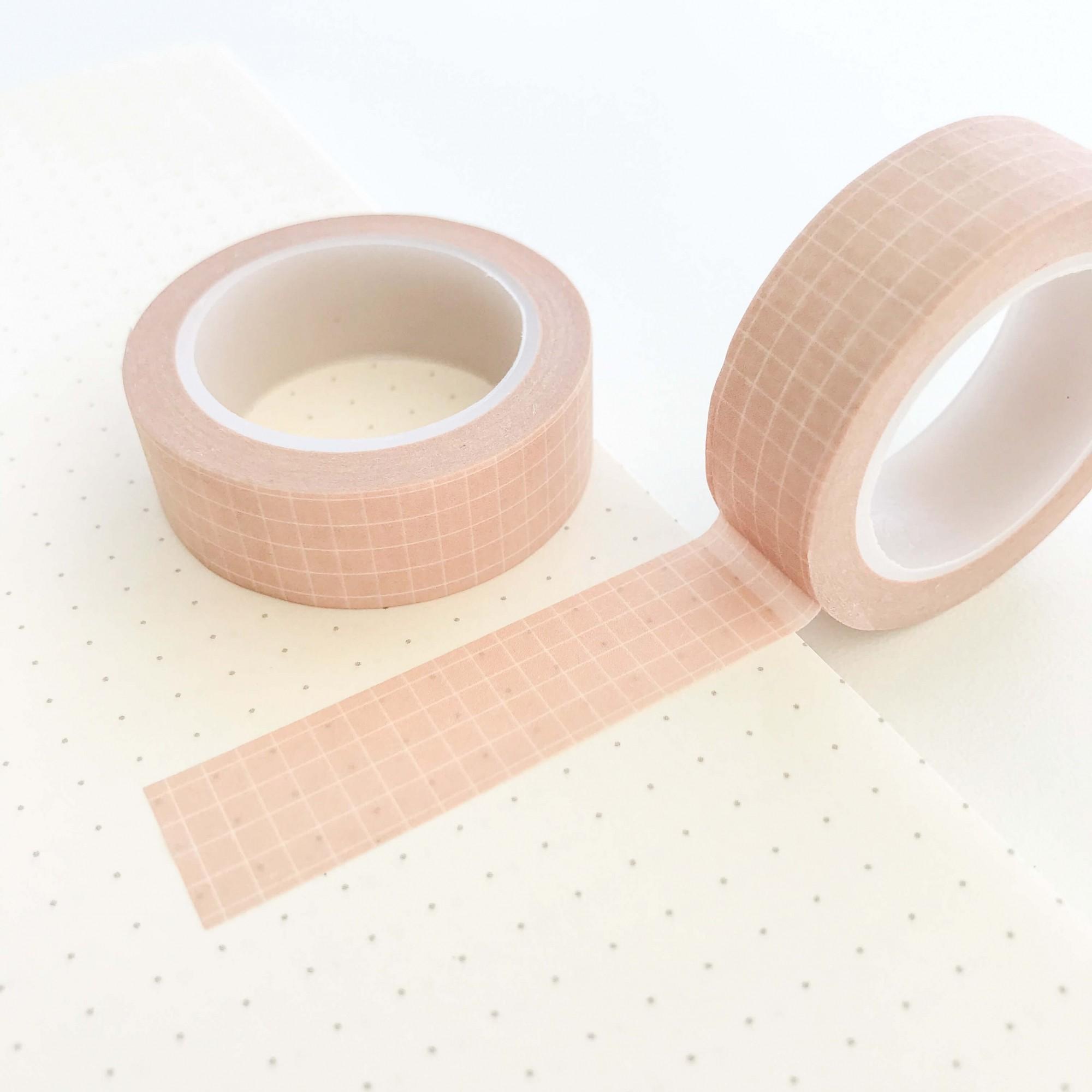 Washi Tape Grid Nude