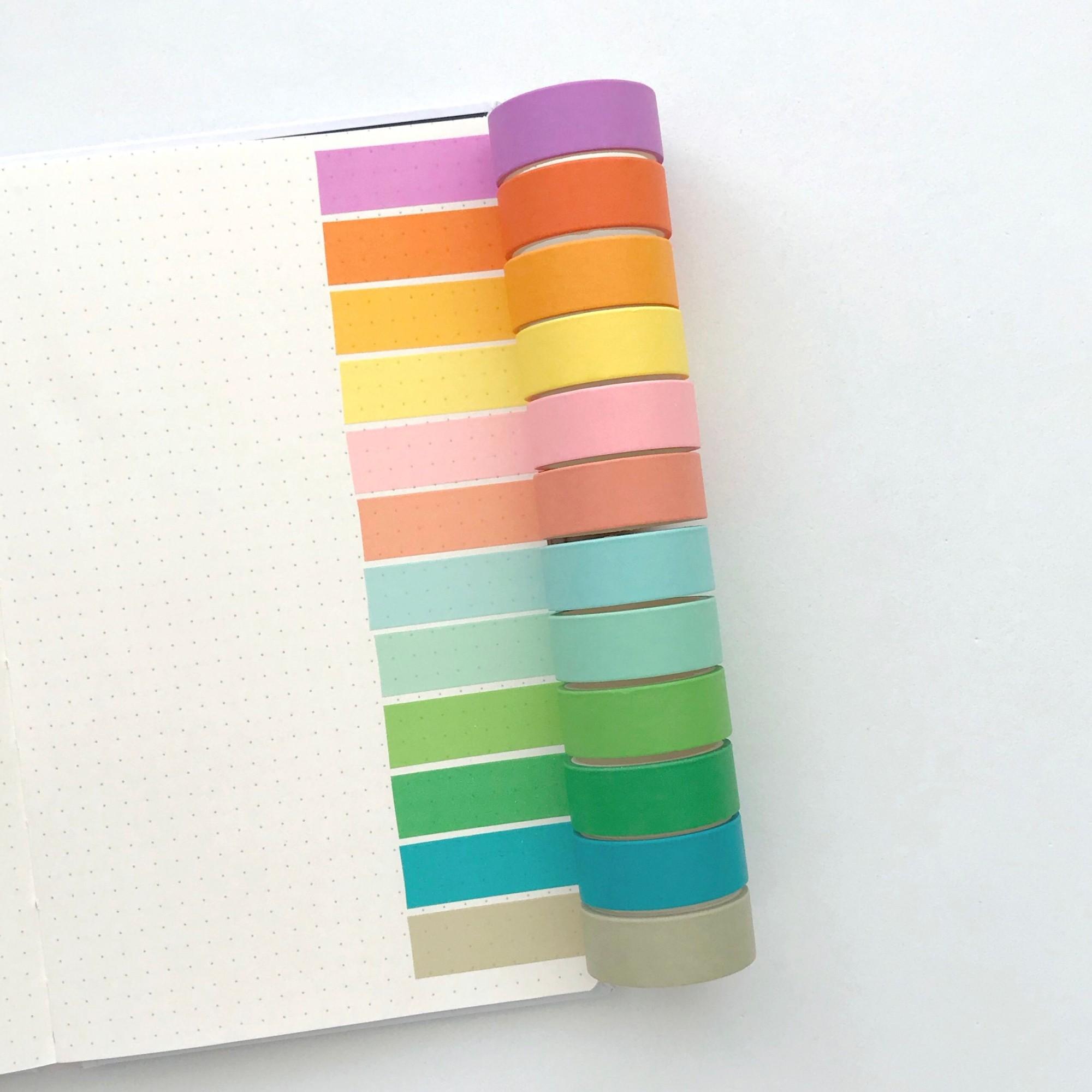 Washi Tape Happy - 12 cores