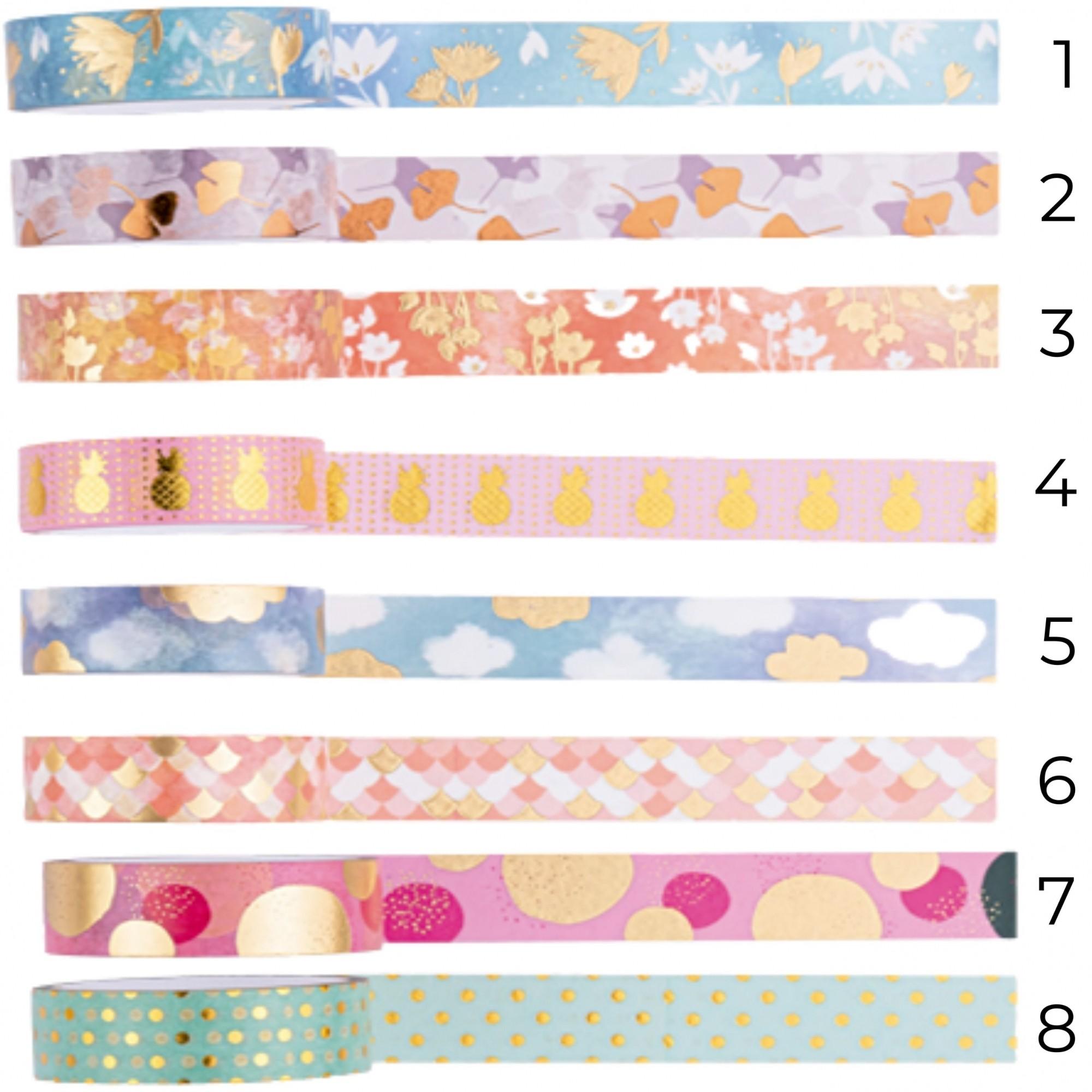 Washi Tape Love Molin (unidade) 24 modelos