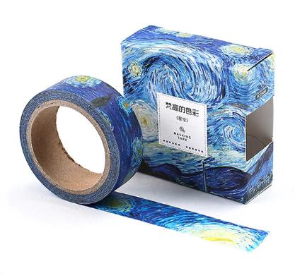 Washi Tape Starry Night Van Gogh