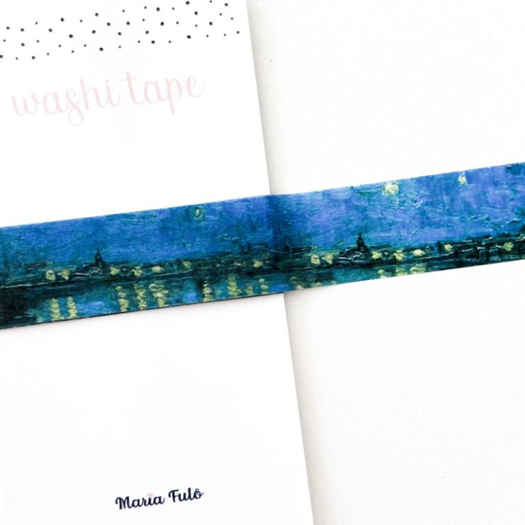 Washi Tape Van Gogh (metro)