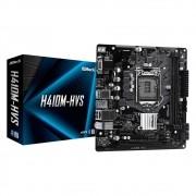 Placa-Mãe ASRock H410M-HVS, Intel LGA 1200, Micro ATX, DDR4
