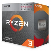 Processador RYZEN 3 3200G,Cache 4MB, 3.6GHz (4GHz Max Turbo), AM4