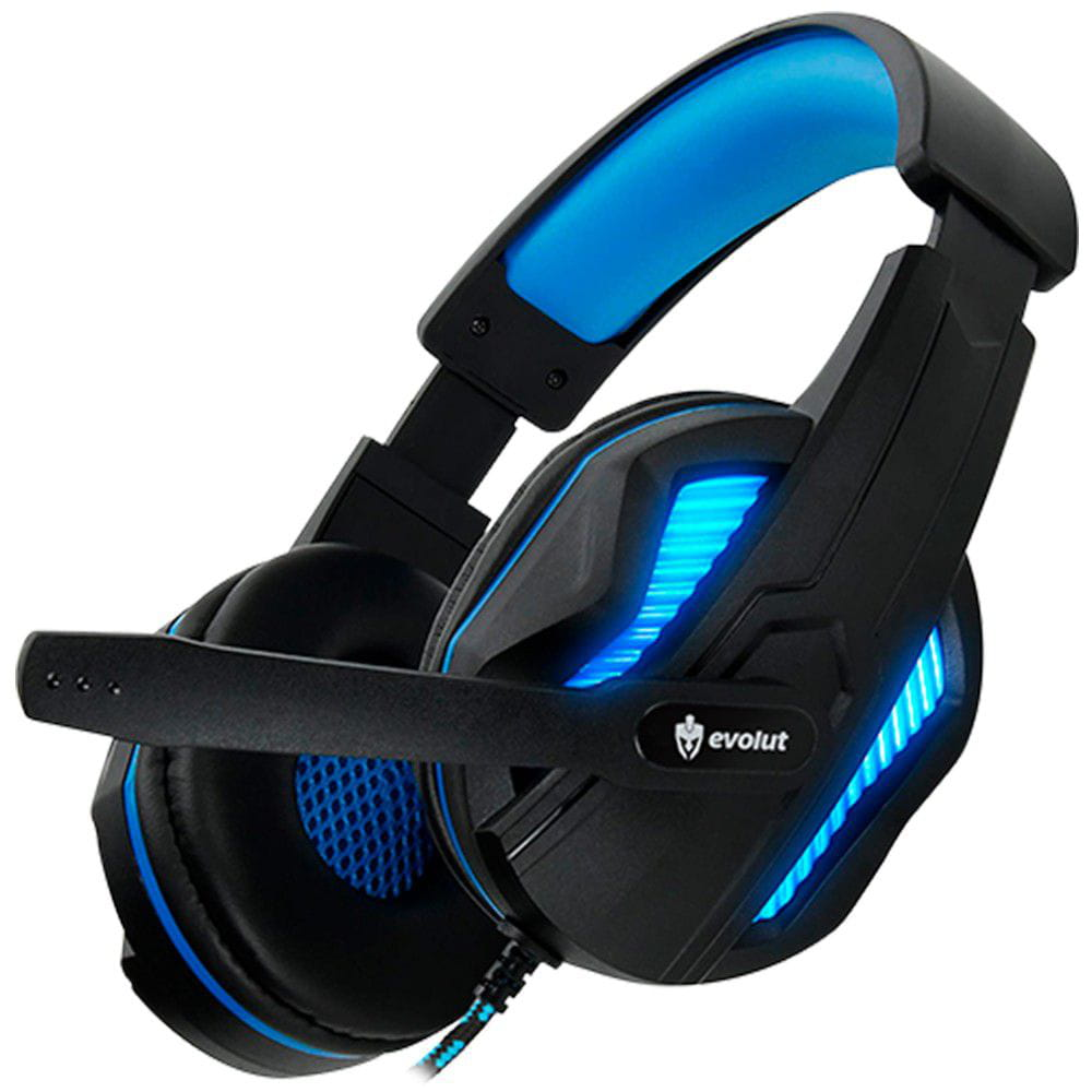 Headset Gamer Evolut Thoth Blue