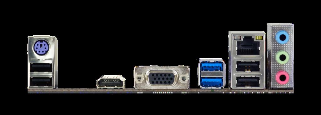 Placa Mãe Biostar A320MH, Chipset A320, AMD AM4, mATX, DDR4