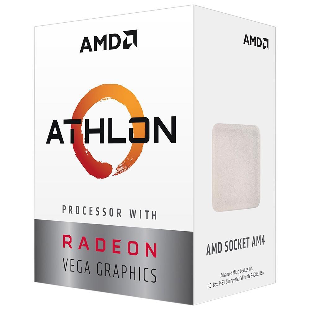 Processador ATHLON 3000G TWO CORE, 5MB CACHE, 3500MHZ, AM4