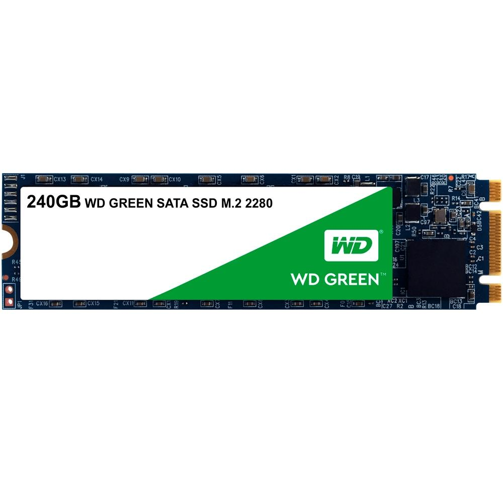 SSD WD Green, 240GB, M.2, Leitura 545MB/s