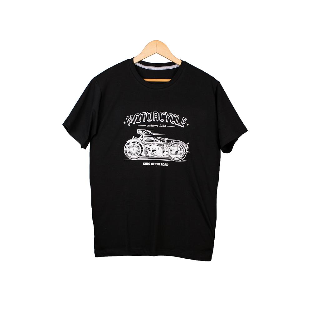 Camisa Motociclista Preto MTS