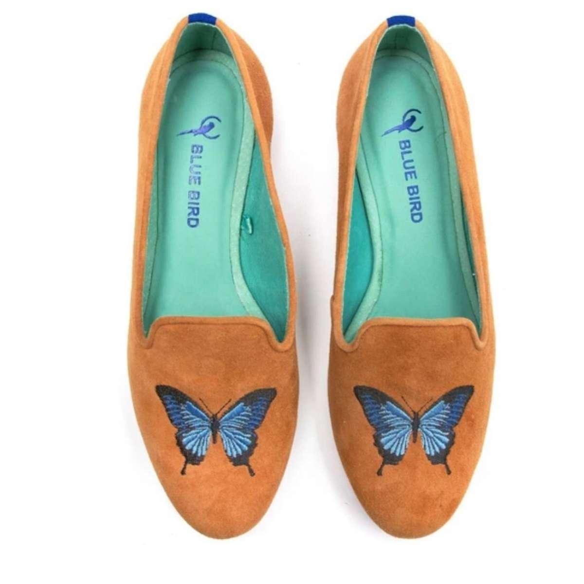 Mocassim Loafer W1801540108-I21 Butterfly Camurça