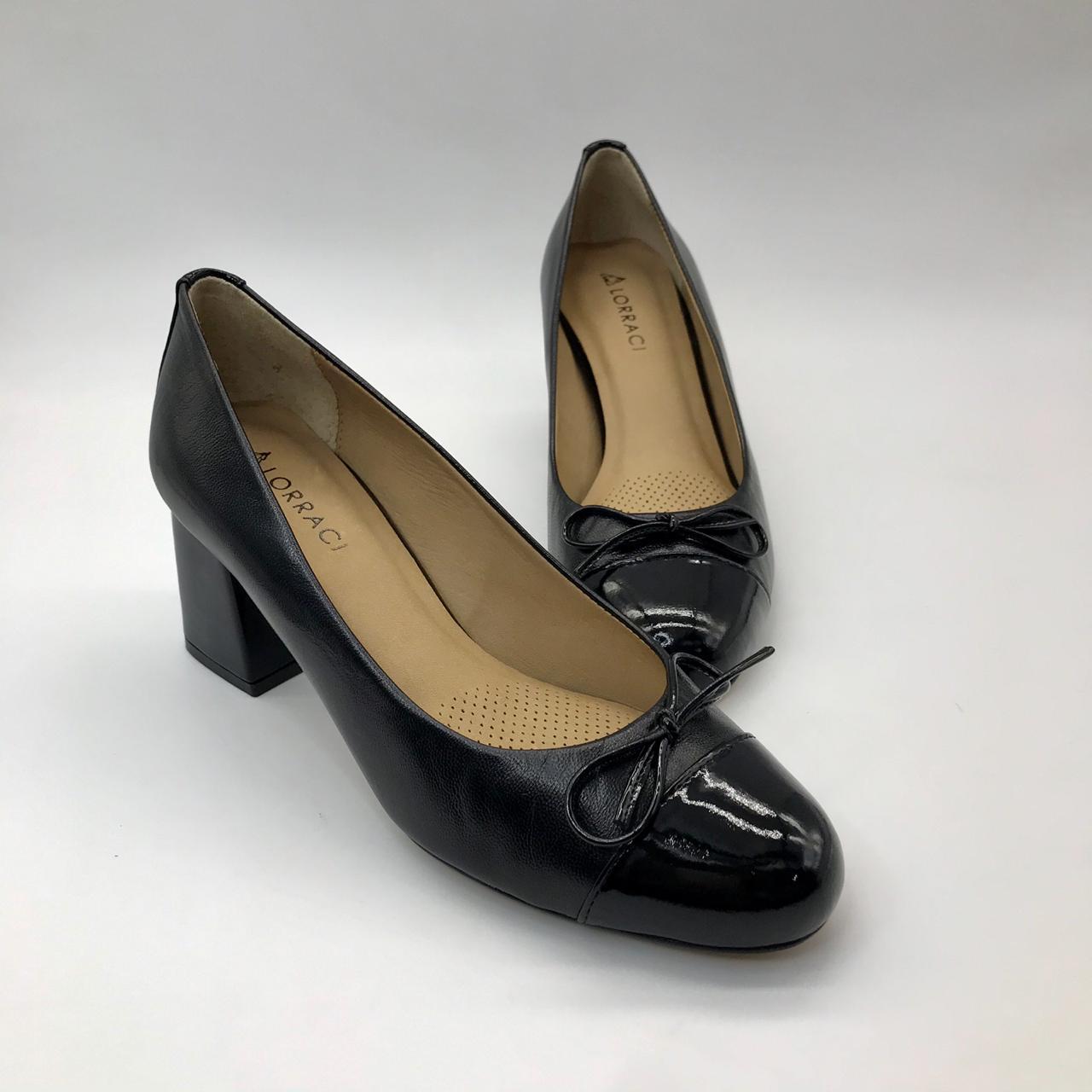 Sapato Couro Lorraci NEI6223-V20 Pelica