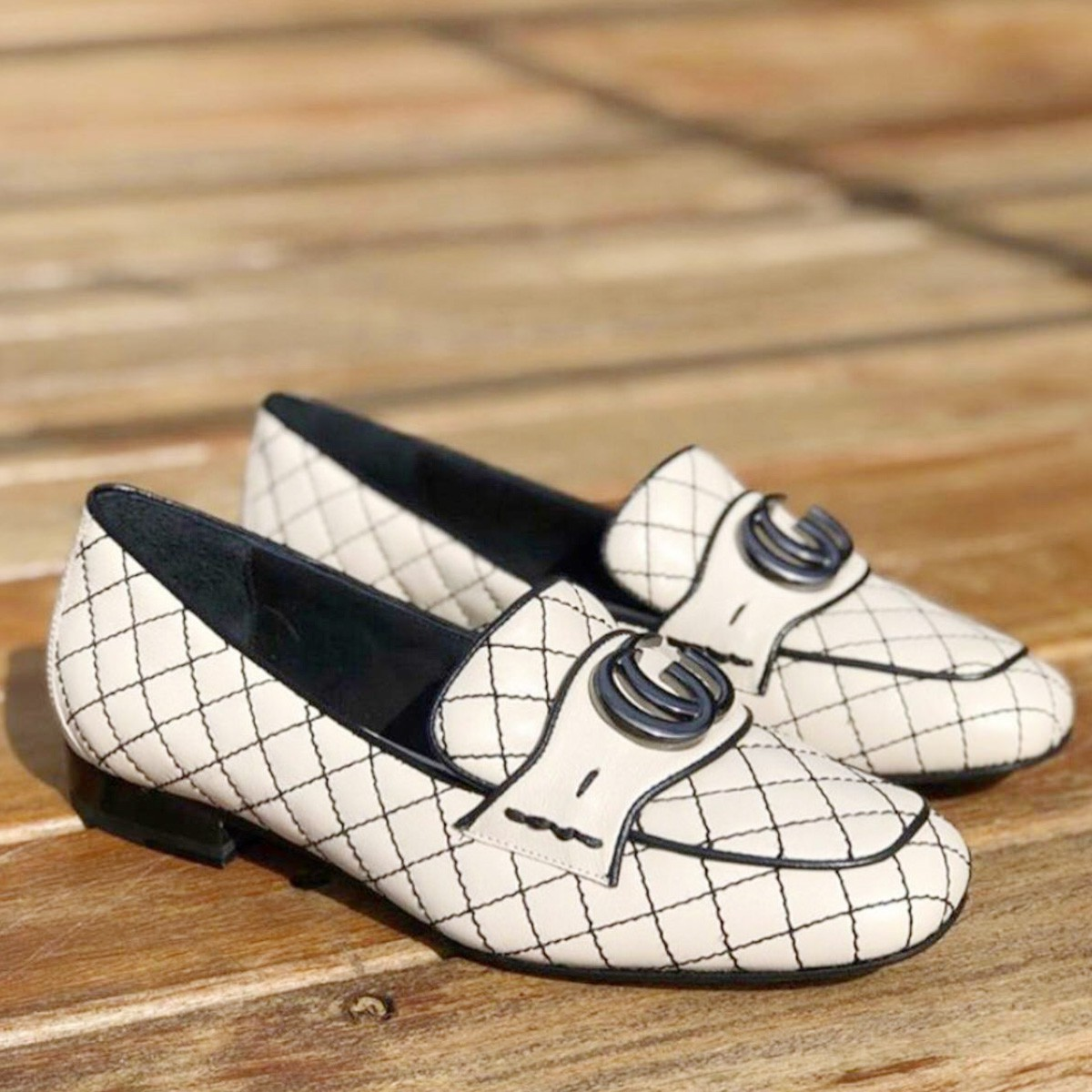 Sapato Mocassim Margot LER15-I20 Pesponto