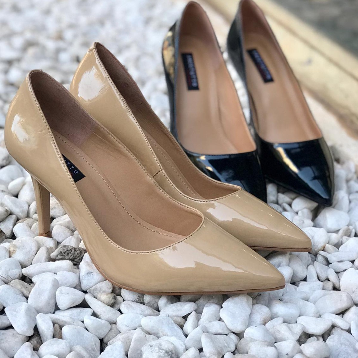 Sapato Scarpin Anzetutto 979001-I20 Verniz