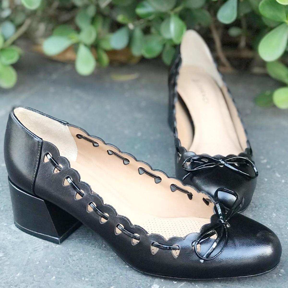 Sapato Scarpin Lorraci NOA6086-I20 Pelica Verniz