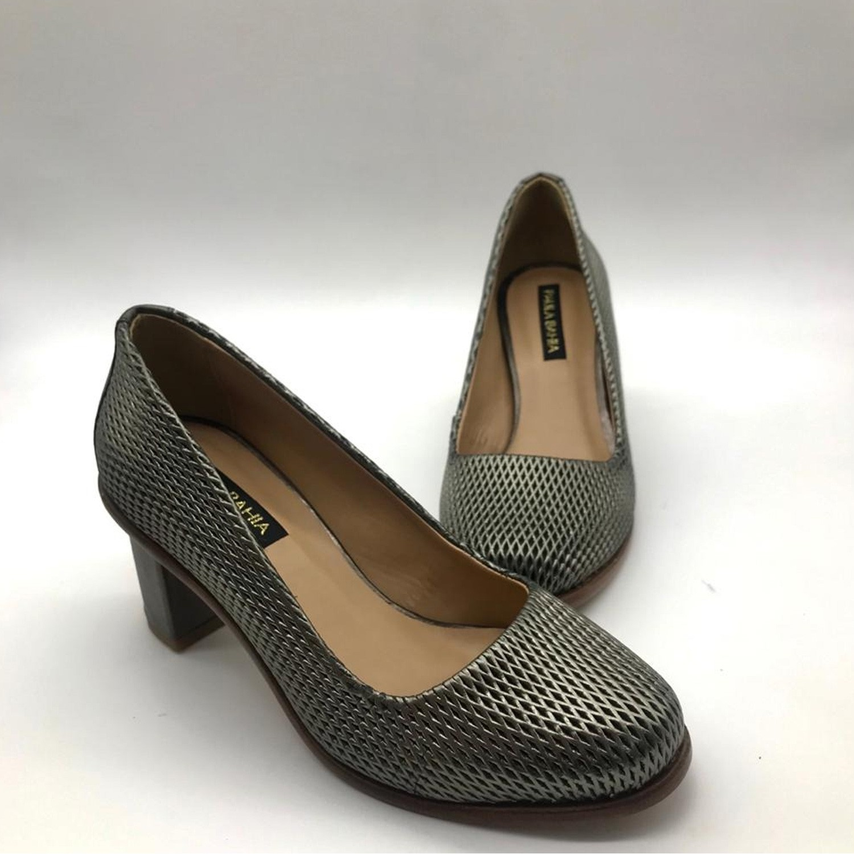 Sapato Scarpin Paula Bahia B8201-I20 Rock