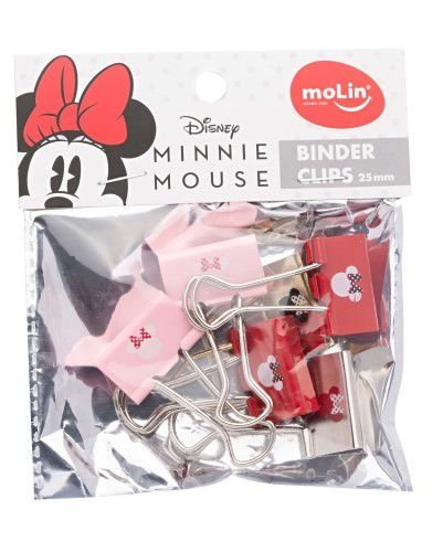 Binder Clips 25mm Molin - Minnie Mouse 6 un