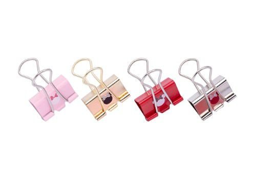 Binder Clips 25mm - Molin - Minnie Mouse 6 unidades
