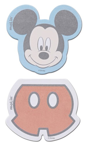 Bloco adesivo Molin Mickey