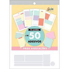 Bloco de Adesivos - Tilibra - 50+ Adesivos Decorativos