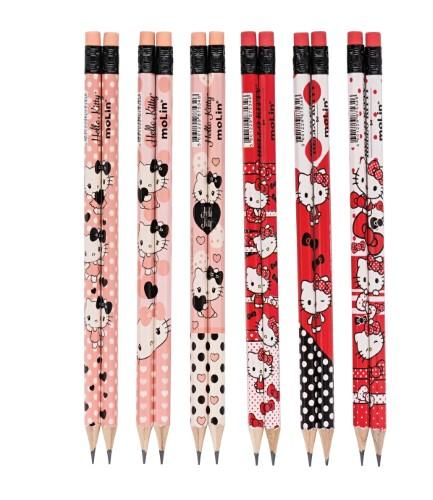 BRINDE - Lápis Hello Kitty Sortido