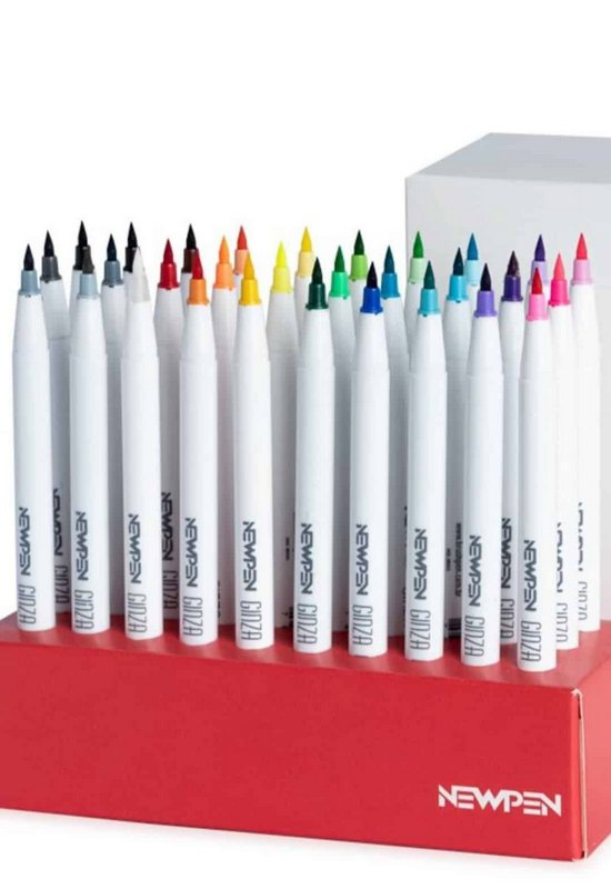 Brush Pen Newpen Ginza - Avulso