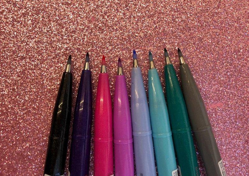 Brush Pen Pentel Sign