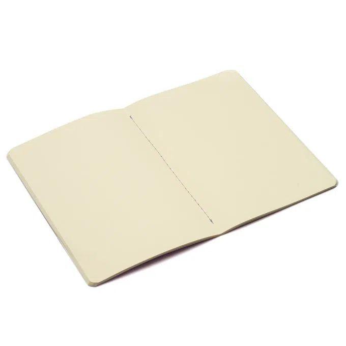 Caderneta Meu Pequeno Cicero Pastel 14x21 Lilás Quadriculado - Sem Pauta