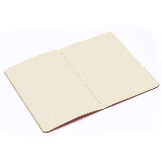 Caderneta Meu Pequeno Cicero Pastel Pontada 14x21 - Cícero - Rosa Listrado