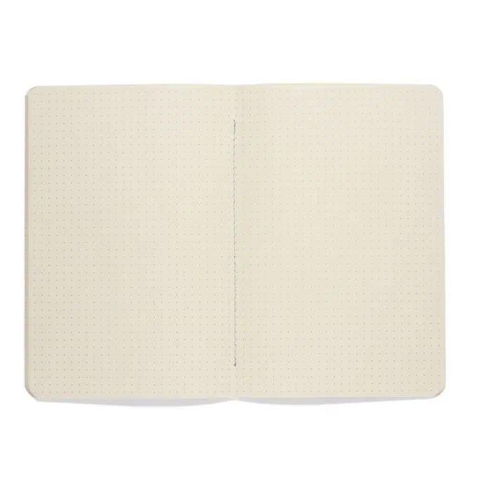 Caderneta Meu pequeno Cicero Terrazo 14x21 - Azul Claro - Pontado