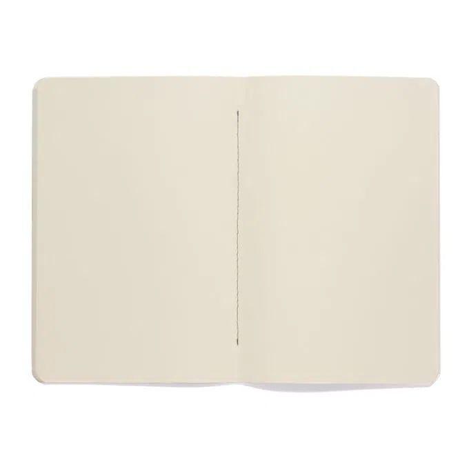 Caderneta Meu pequeno Cicero Terrazo 14x21 - Azul Marinho - Sem Pauta