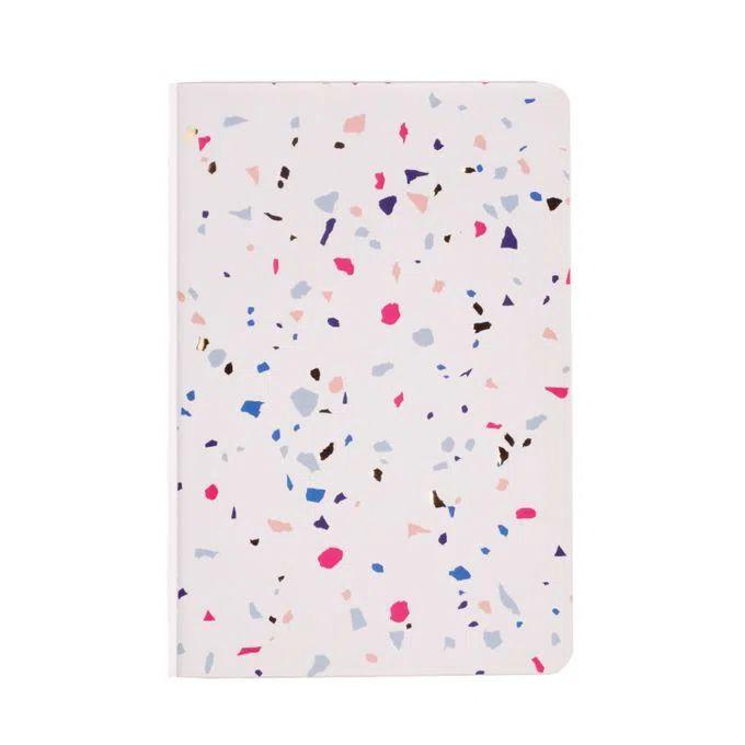 Caderneta Meu pequeno Cicero Terrazo 14x21 - Branco - Sem Pauta