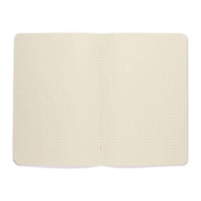 Caderneta Meu pequeno Cicero Terrazo 14x21 - Rosa - Pontado