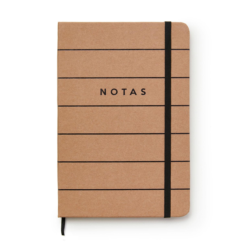 Caderneta Pautada 14x21 - Cícero -  Kraft Notas