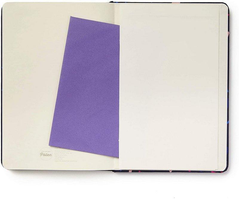 Caderneta Pautada Terrazo - Azul 14x21  - Cícero